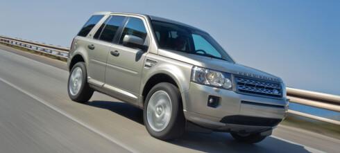 Land Rover med forhjulsdrift