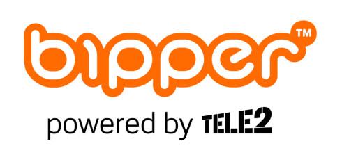 Slik ser Tele2 Bipper ut før lansering. Det er bestemt at det hver måned skal settes inn penger i et fond tiltenkt veldedige formål. Beløpet er foreløpig satt til fem kroner per abonnent.