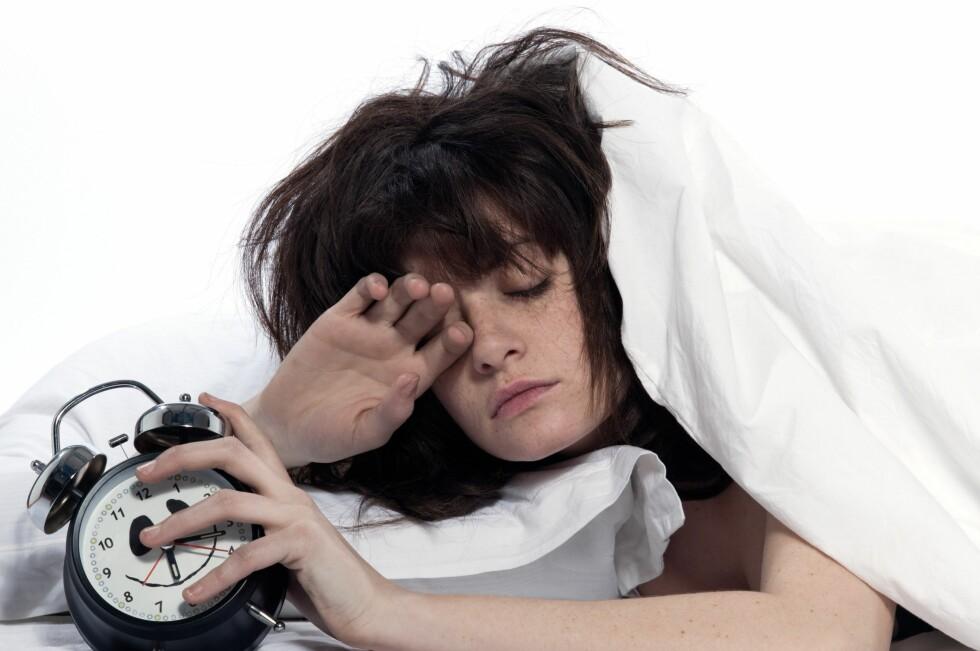 SYV TIMER ER BEST: I løpet av disse timene får du dekket søvnbehovet ditt perfekt.  Foto: Panther Media