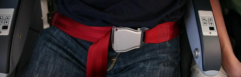 Du gjør lurt i å beholde setebeltet på. Foto: Daniel Schwen