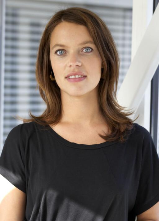 Astrid Mjærum i Lånekassen informerer om at kunder nå kan komme ut av fastrenteavtalene sine. Foto: Jannecke Sanne Normann