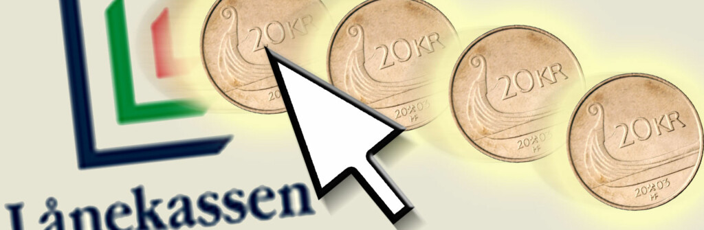 Klikk deg inn på www.lanekassen.no dersom du vil ut av fastrenteavtalen din. Foto: Per Ervland