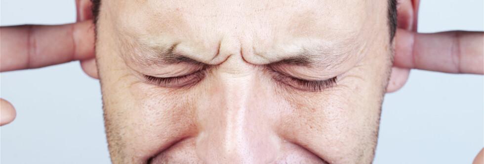 Dotter i ørene er ingen spøk. Det kan gjøre sabla vondt! Foto: Colourbox
