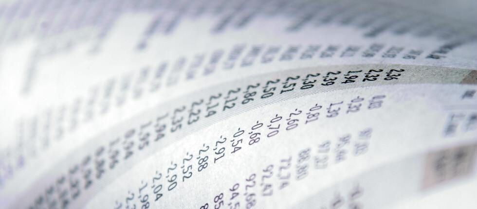 SVARTELISTE: Nær 200.000 nordmenn har betalingsanmerkninger. Disse vil blant annet ha problemer med å få lån. Foto: Colorbox.com