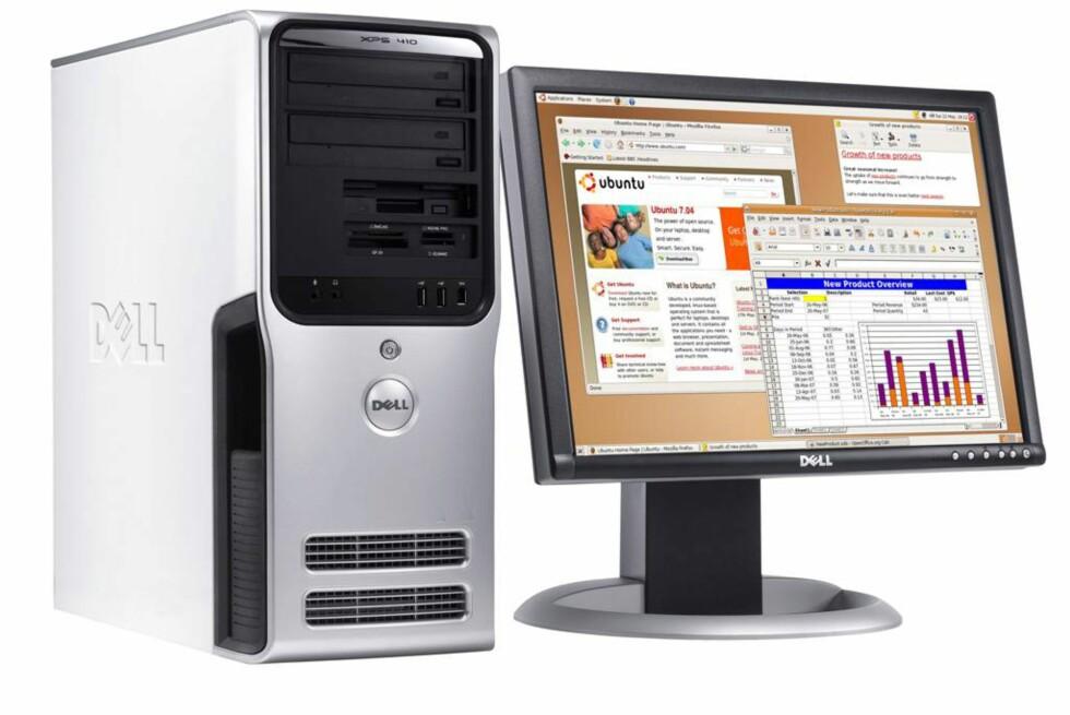 Dell vil ikke lenger levere Ubuntu med PC-ene sine, med mindre du spør spesielt etter det pr telefon.