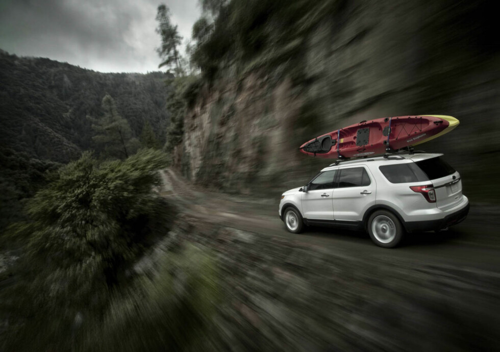 2011 Ford Explorer: The all-new Ford Explorer with intelligent 4WD and terrain management will comfortably take your crew and their watercraft upstream.