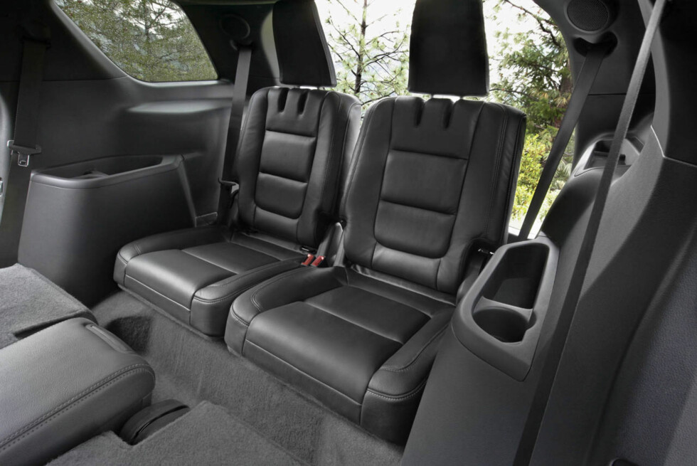 2011 Ford Explorer: Explorer comes standard with three rows of seating (07/26/2010) Foto: Wieck
