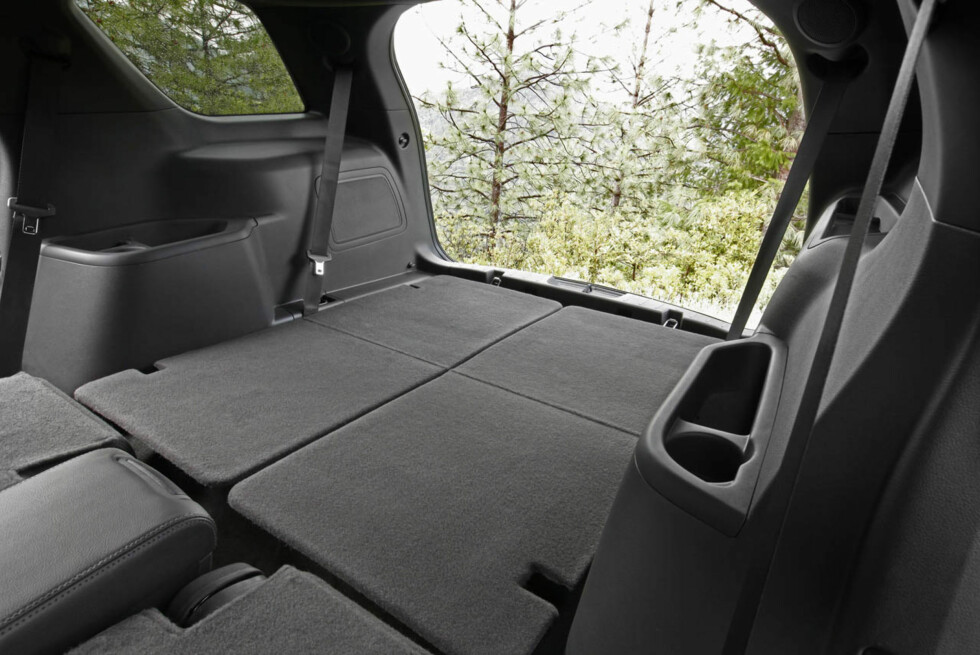 2011 Ford Explorer: With second- and third-row seats folded, Explorer offers 80.7 cubic feet of cargo space. (07/26/2010) Foto: Wieck