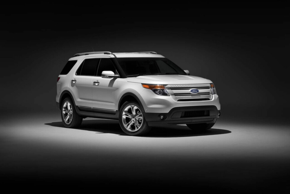 2011 Ford Explorer: Taut, athletic lines give the all-new Explorer a muscular appearance. (07/26/2010) Foto: Wieck
