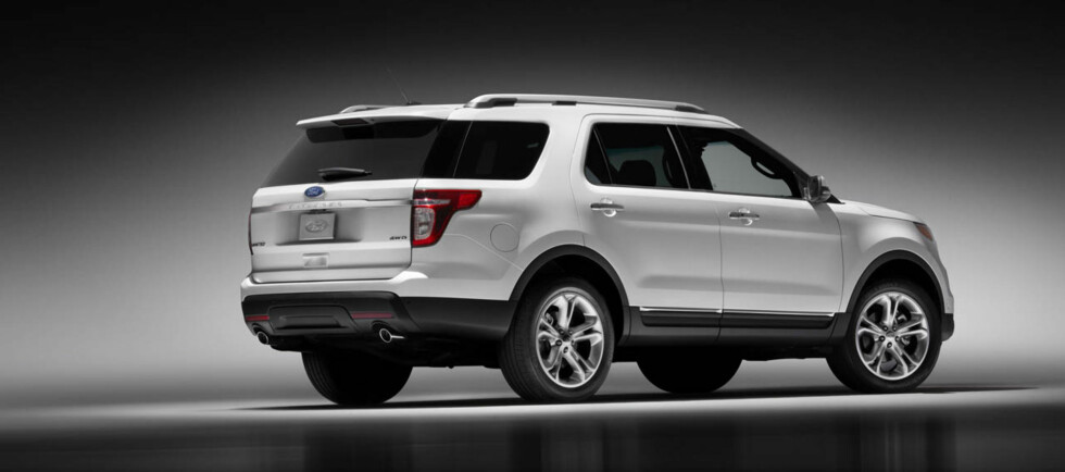 2011 Ford Explorer: The strong C-pillar gives the new Explorer visual linkage to previous models. (07/26/2010) Foto: Wieck