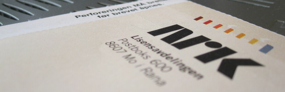 GLEM IKKE Å BETALE: Fristen for å betale Nrk-lisensen for andre termin går ut 31. juli. Foto: Karoline Brubæk
