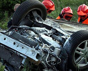 image: Unge bilførere krasjer mest