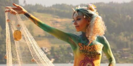 Se bildene fra World Bodypainting Festival 2010