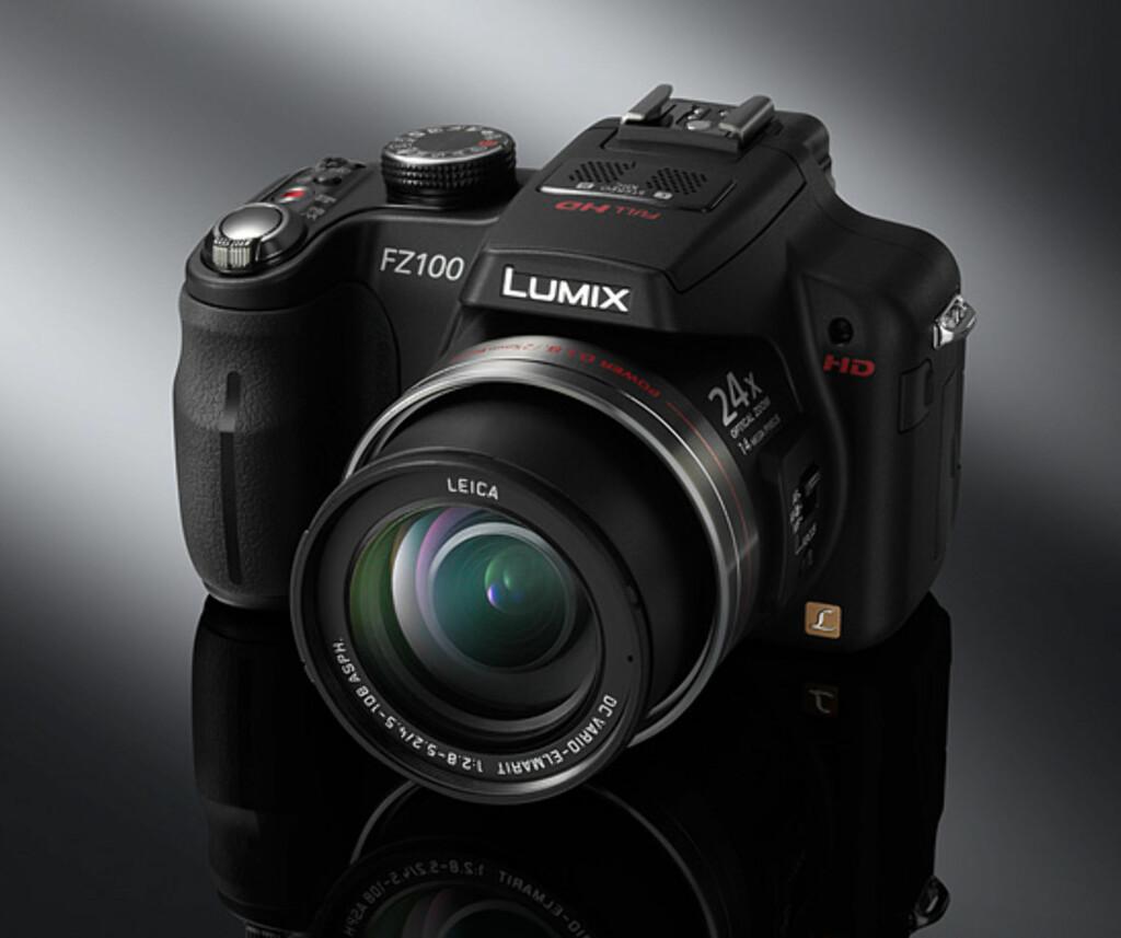 image: Panasonic annonserer LX5, FZ100, FX700, FT10 og FZ45