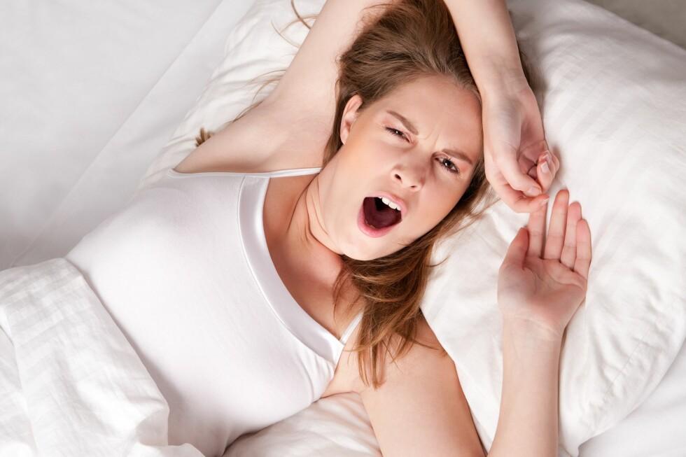 KILOENE KRYPER PÅ: Jo dårligere søvn, jo større er risikoen for at kiloene kommer krypende. Foto: Panther Media