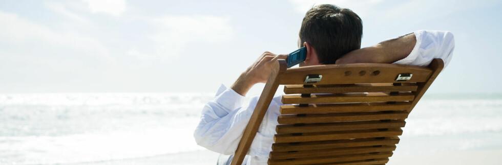 LANGT FRA LAND? Da bør du sjekke en gang til før du ringer. Foto: Colourbox.com