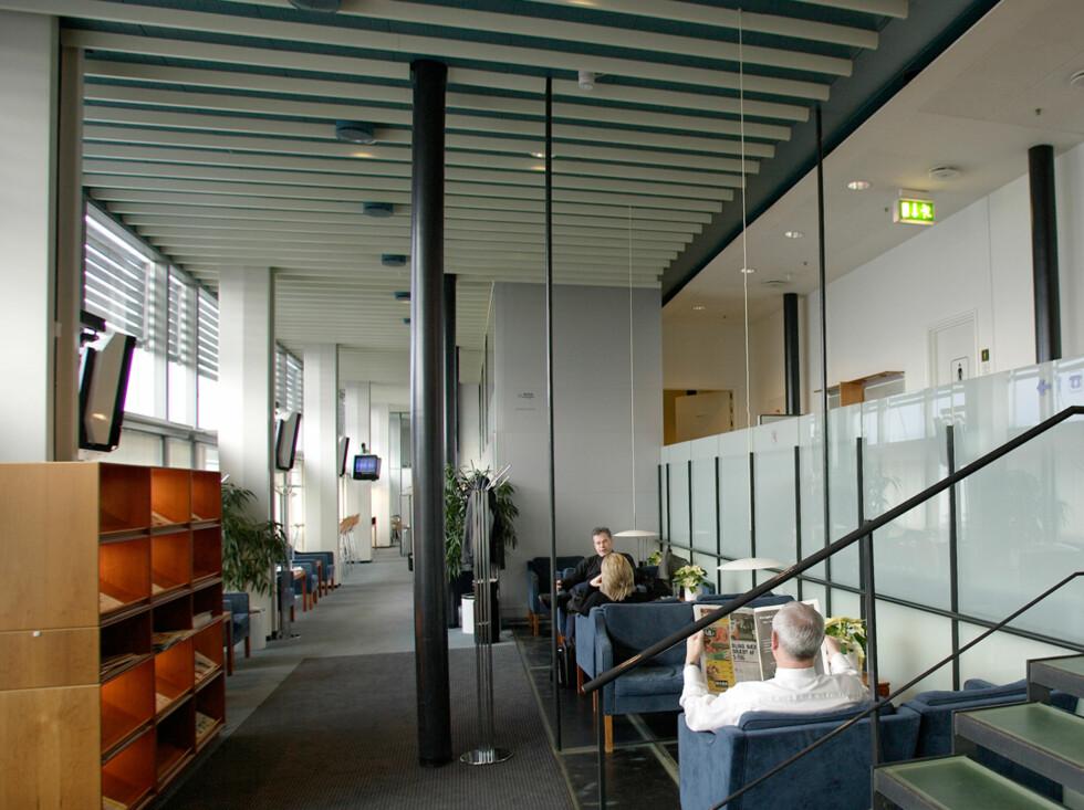 Fra Novia Lounge på Kastrups terminal 2 i København. Foto: Priority Pass