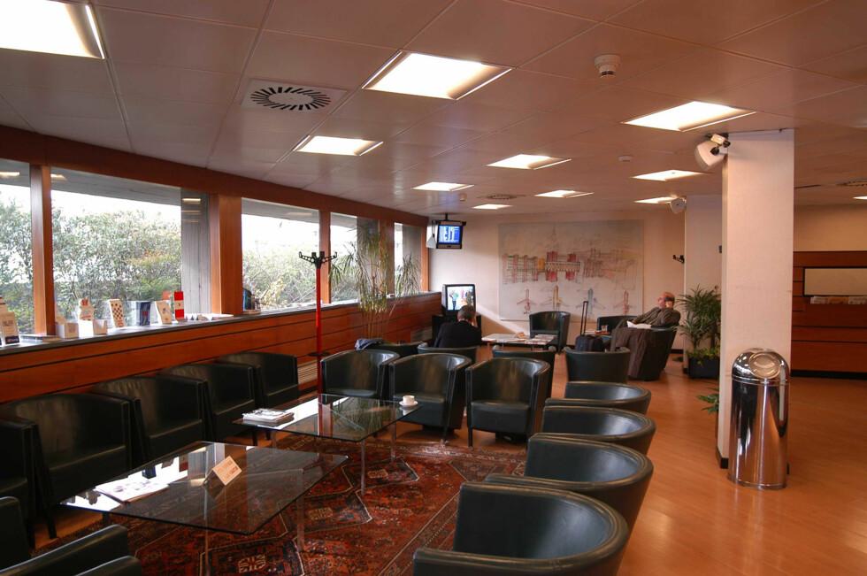 Club S.e.a. loungen på Milano Linate. Foto: Priority Pass
