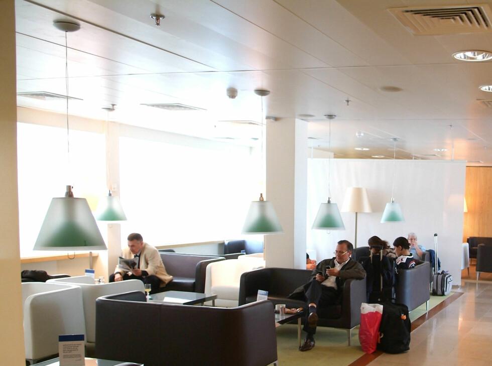 Icare Lounge på Paris Orlys sørlige terminal. Foto: Priority Pass