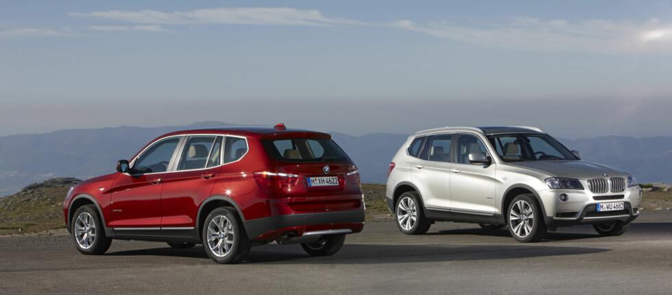 Det er ikke vanskelig å se at X3 er en BMW Foto: BMW