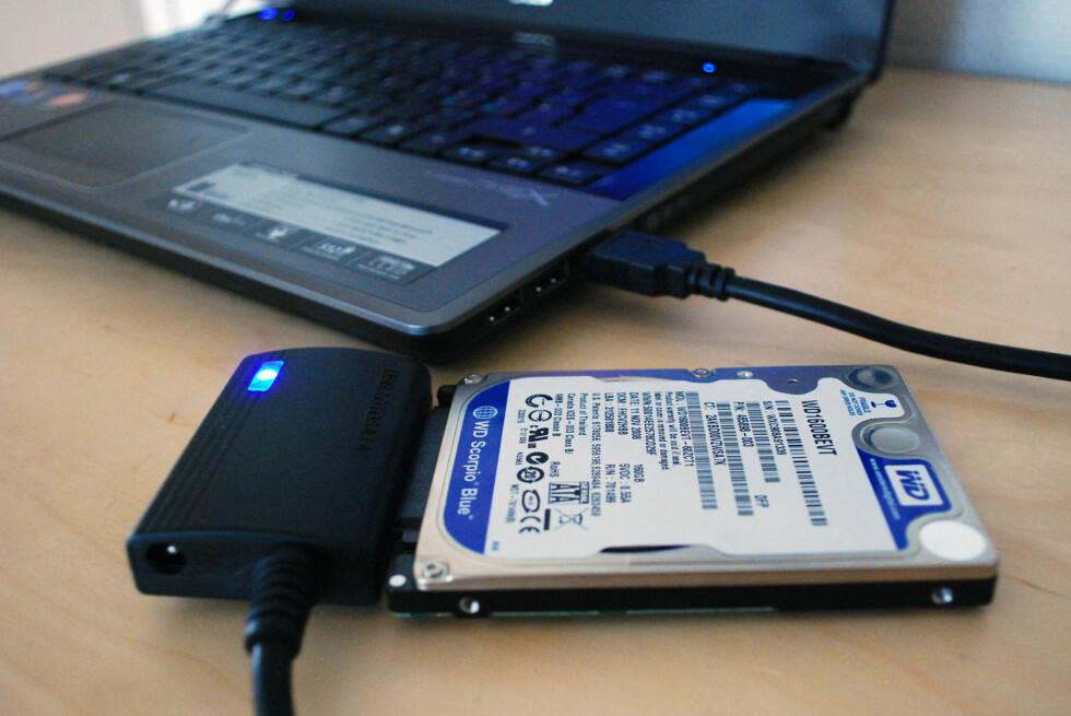 Lynraskt bytte til ny harddisk