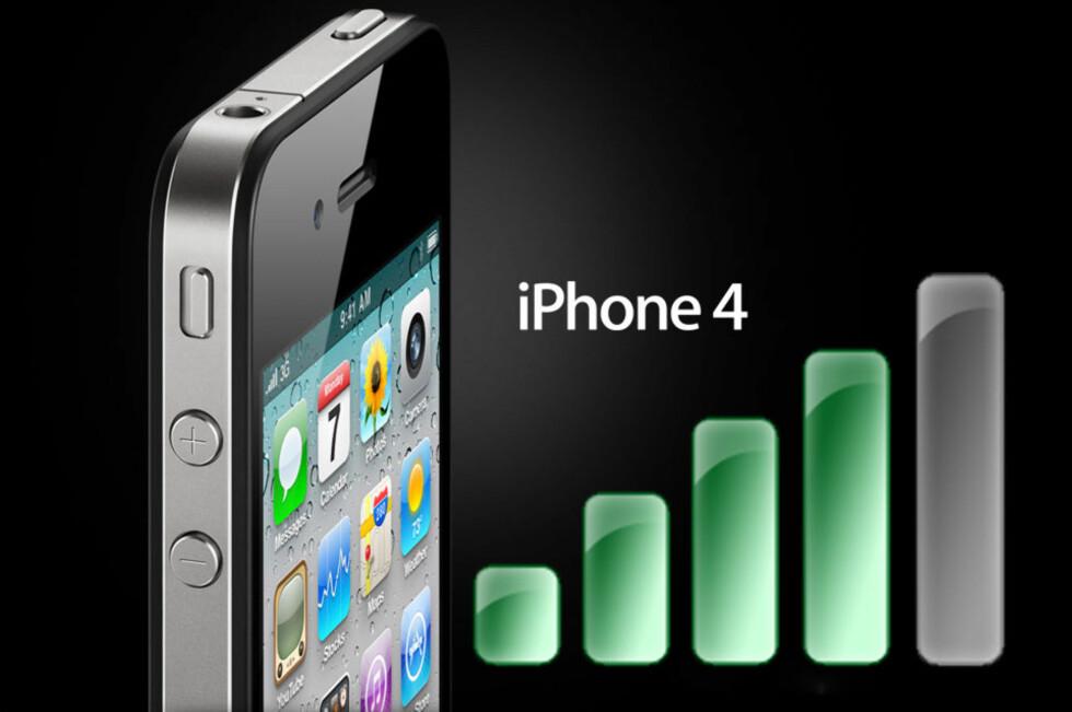 Tester bekrefter mottakerproblem på iPhone 4