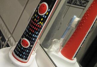 Bør barn bruke elektrisk tannbørste?