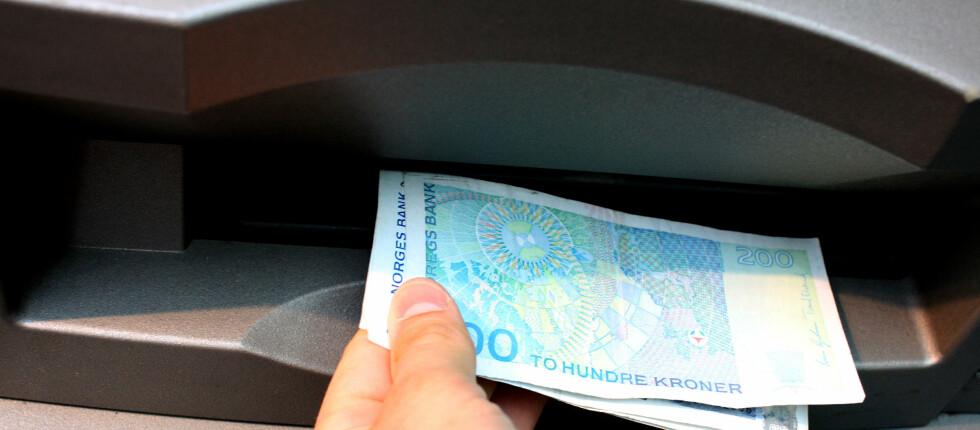 Glem fingeravtrykk. Nå er det blodårene dine som skal identifisere deg. Muligheten finnes allerede i minibanker i Polen. Foto: DinSide