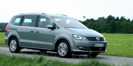 PRØVEKJØRT: Nye VW Sharan