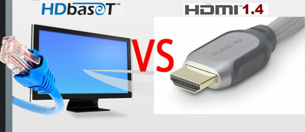 Blir HDMI utkonkurrert av HDbaseT?