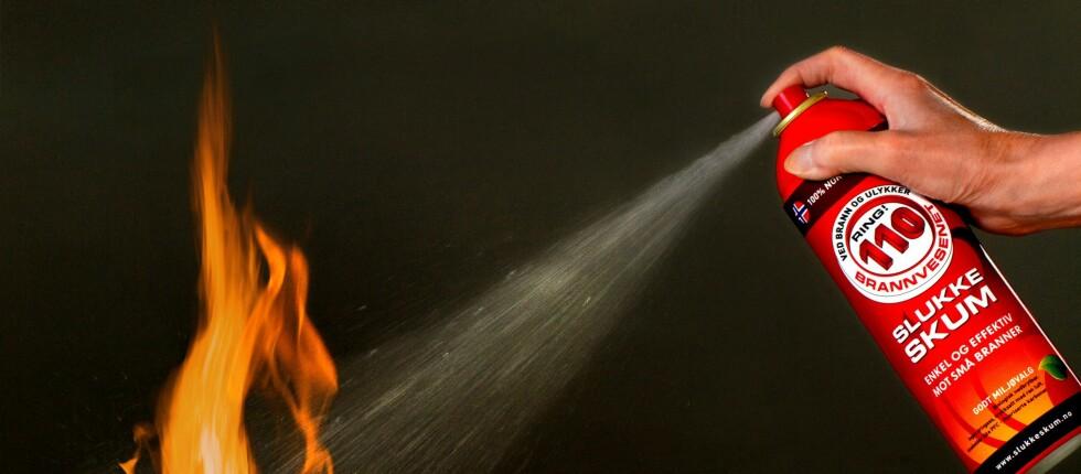 Ny type brannslukker tillatt