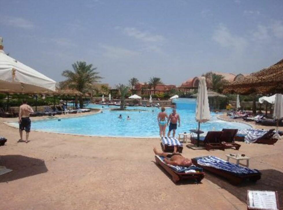 Samme utsikt, men denne gangen er bildet tatt av en hotellgjest. Foto: Tripadvisor