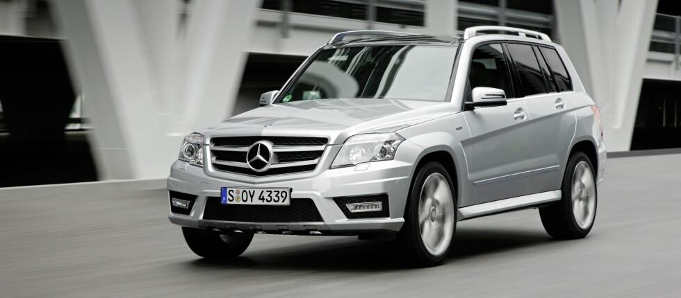 Klart billigere Mercedes GLK