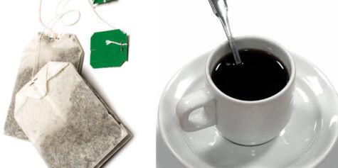 image: Kaffe og te er bra for hjertet