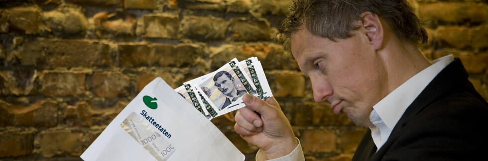 Har Skatteetaten godtatt endringene dine? Svært mange nordmenn kan få svaret i dag. Foto: Per Ervland