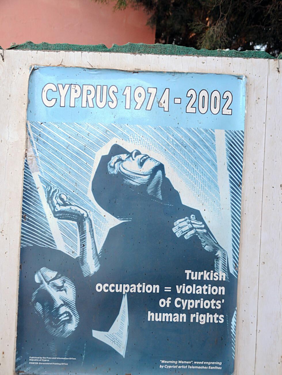 Etter den tyrkiske invasjonen i 1974 har Famgusta ligget øde. Motsetningene mellom kyproiter og den tyrkiske befolkningen er fortsatt stor mange steder. Foto: Hans Kristian Krogh-Hanssen