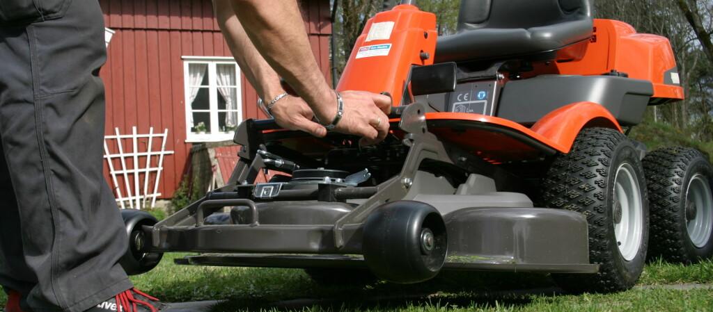 Se hvordan du best tar vare på gressklipperen din og klargjør den for sesongen.  Foto: MediaPlanet