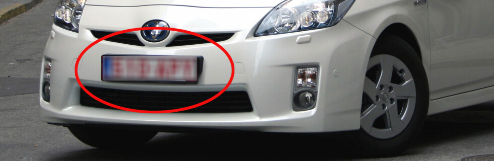 KJØRT FOR FORT? Er skiltet utenlandsk, slipper føreren letter unna fartssyndene.