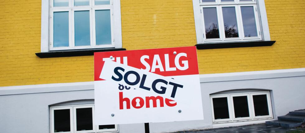 Selv med nye regler selges boliger før visning.  Foto: Colourbox.com