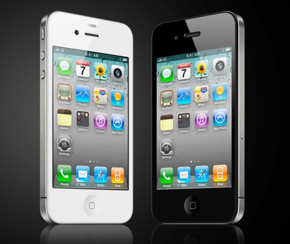 For første gang kan du få iPhone i hvit utførelse. Foto: Apple