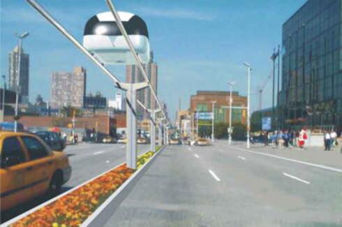 Kjapt fra a til b uten problemer med kø og annen trafikk. Foto: STU System