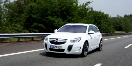 PRØVEKJØRT: Opel Insignia OPC