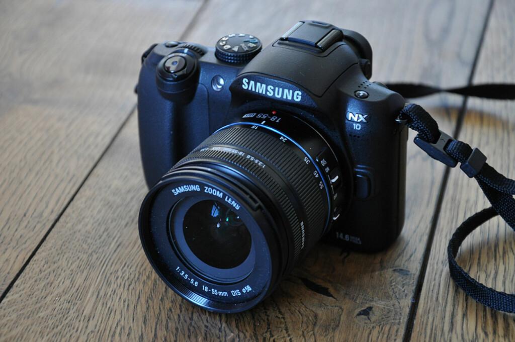 Det lille kameraet fra Samsung er et godt kompromiss mellom størrelse, pris og kvalitet. Foto: Pål Joakim Olsen