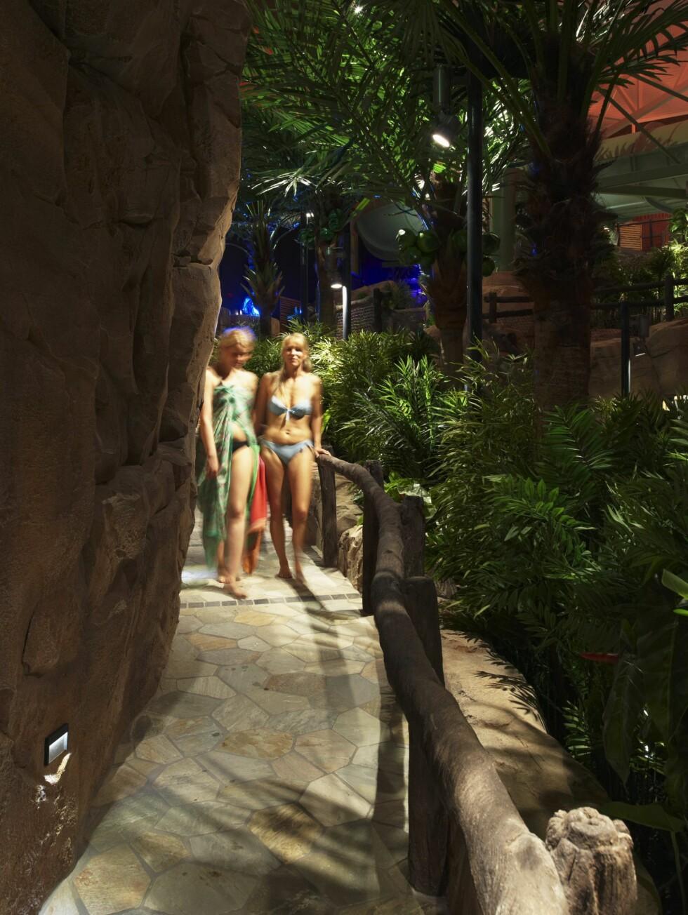 Det er investert mye penger i å pusse opp badelandet. Foto: The Reef Resort