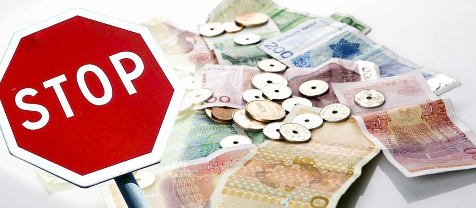 Får du spørsmål om å betale i norske kroner når du handler med kort i utlandet, bør du svare nei! Foto: Colourbox/DinSide