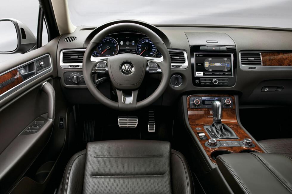 Norgespremiere på Volkswagen Touareg