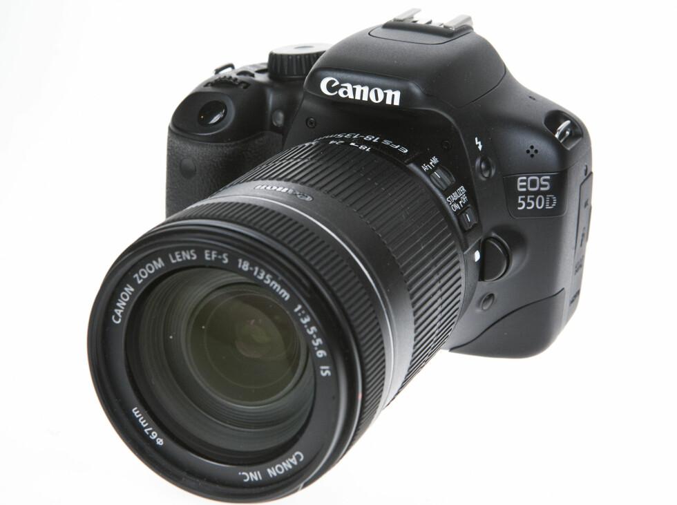 Canon EOS 550D er et godt kamera uten store svakheter. Foto: Per Ervland