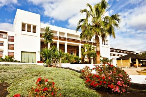 Slik ser Hotel hesperias fasade ut. Foto: Star Tour