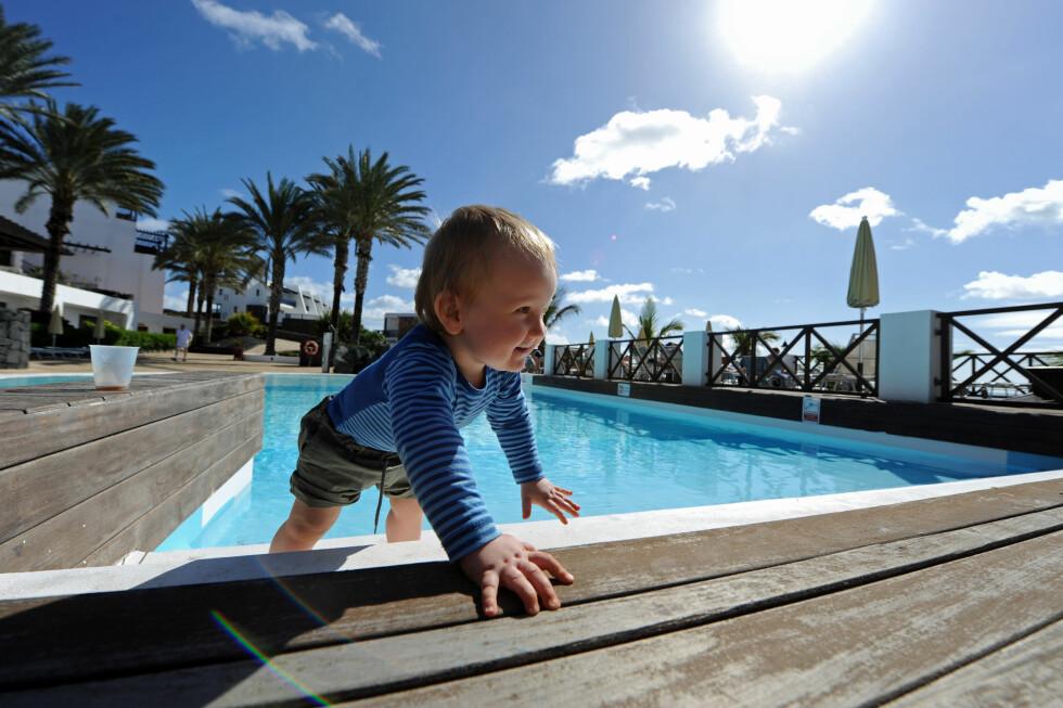 Hotel Hesperia er forøvrig et ganske barnevennlig hotell. Foto: Hans Kristian Krogh-Hanssen