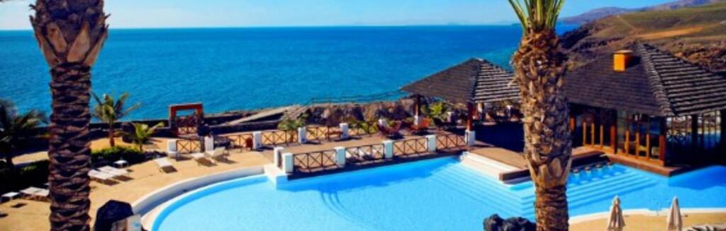 Slik presenteres Hotel Hesperia med fem S'er på Star Tours nettside Foto: Star Tour